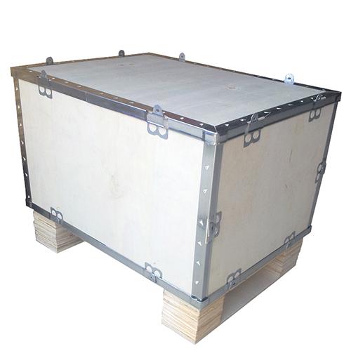 胶合板钢带组合箱